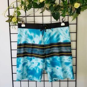 Burnside Blue Swim Shorts Swimwear 32